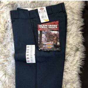 Dickies Plain Front Twill Pants